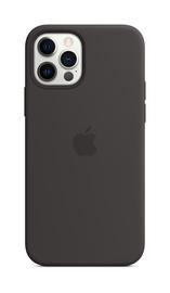 Silicone case iPhone 12/12 Pro black