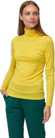 Audimas Merino Wool Long Sleeve Roll Neck Top Vibrant Yellow L