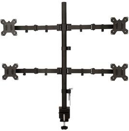 ART Holder For 4 LED/LCD Monitors 13-27'' Black
