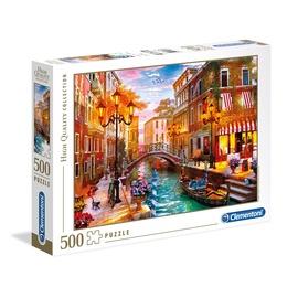 Pusle Clementoni Sunset Over Venice 35063, 500 tk