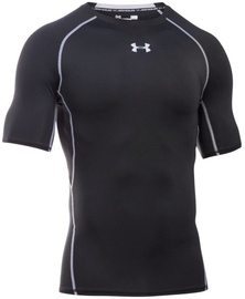 Under Armour Compression Shirt HG Armour SS 1257468-001 Black XL