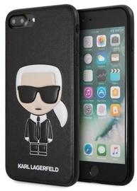 Karl Lagerfeld Iconic Karl Embossed Back Case For Apple iPhone 7 Plus/8 Plus Black