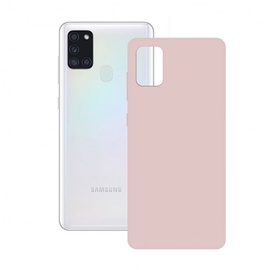 Ksix Silk Back Case For Samsung Galaxy A21s Pink