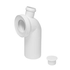 WC ühendus Tycner 767 110/45/50, valge