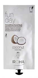 Iroha Nature Smoothing Creamy Facial Mask Fun Day 25g Coconut