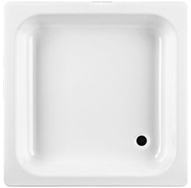 Jika Sofia Shower Tray Steel 80x80 White