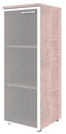 Skyland Xten Office Cabinet XMC 42.7 Left Sonoma Oak