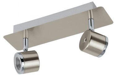 Eglo Pierino Spotlight LED 2x5W Nickel/Chrome
