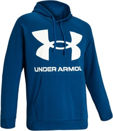 Under Armour Rival Fleece Big Logo Hoodie 1357093-581 Blue XL