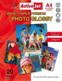 ActiveJet Photo Paper A4 230 Gloss 20 Pages
