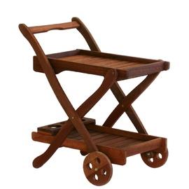 Home4you Viktoria Serving Cart Meranti