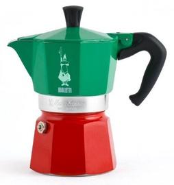 Bialetti Moka Express Italia Stovetop Espresso Maker 6 Cups 300ml