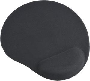 Gembird Gel Mouse Pad w/ Wrist Support Black MP-GEL-BK