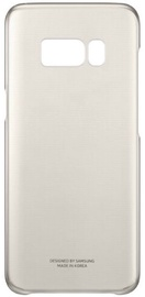 Samsung Original Super Slim Back Case For Samsung Galaxy S8 Plus Transparent/Gold