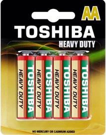 Toshiba Zn-C Battery AA x 4