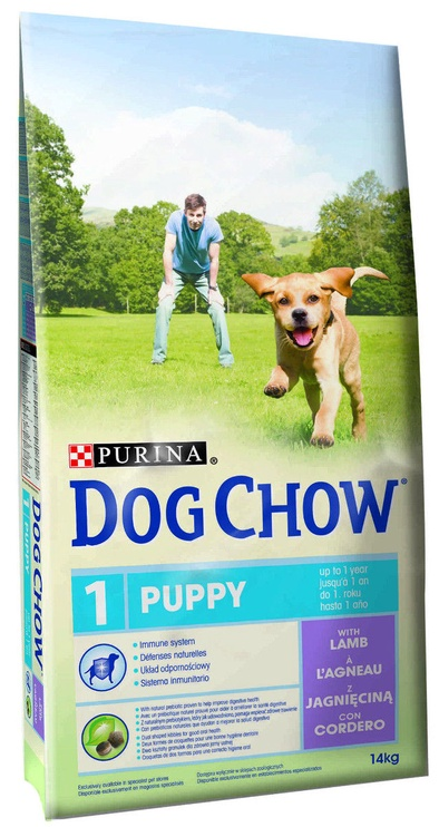 Purina Dog Chow Puppy with Lamb 14kg