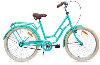 "Jalgratas Monteria Limber 24 Kids Green, 24"""