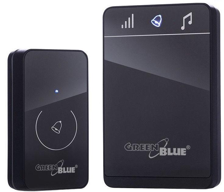 GreenBlue GB112 Wireless Bell Black