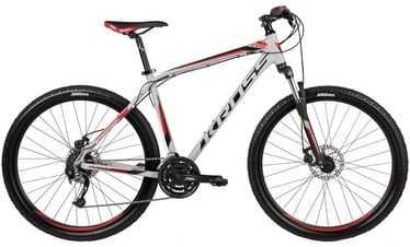 "Jalgratas Kross Hexagon R5 XL 27.5"" Grey Black Red 17"