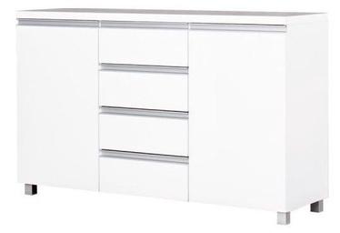 Комод Bodzio Aga AG05 White, 134.5x43x85 см