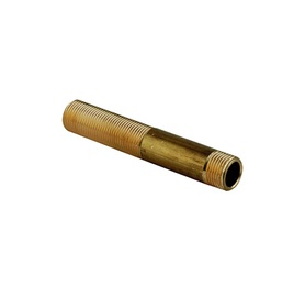"""TDM Brass Outer Thread Connector 3/4"""" 200mm"""
