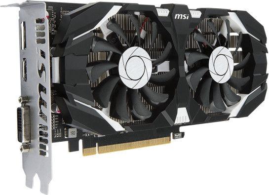 MSI GeForce GTX1050 TI 4GT OC 4GB GDDR5 PCIE GTX1050TI4GTOC