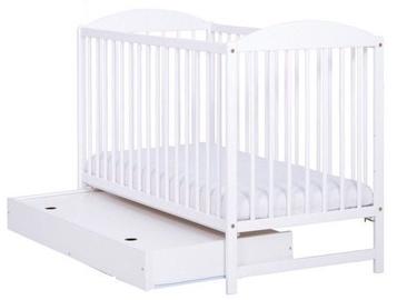Drewex Kuba II Bed With Drawer White
