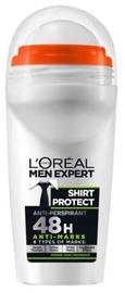 Meeste deodorant L´Oreal Paris Men Roll On Shirt Protect, 50 ml