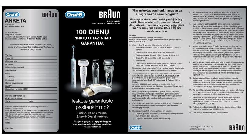 Бритва для бороды Braun Series 6 60-N4500CS
