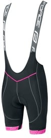 Force Fame Lady Bibshorts Black/Pink M