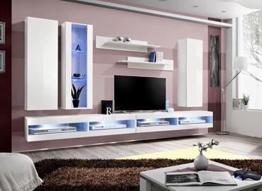 ASM Fly Q9 Living Room Wall Unit Set White