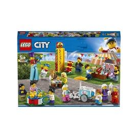 Konstruktor LEGO® City 60234 Inimeste komplekt – lõbus laat