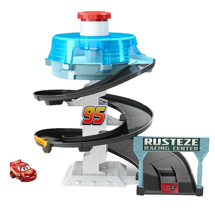 Mattel Disney Pixar Cars Mini Racers Rust-eze Spinning Raceway