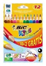 Värvipliiatsid Bic 8871462 12 tk