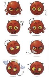 Herlitz Stickers Devils