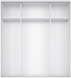 Black Red White Wardrobe Frame Nadir 200 White