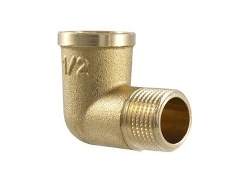 """TDM Brass Corner Joint V/I 3/4"""""""