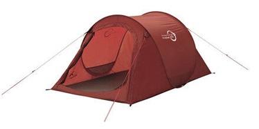 Kahekohaline telk Easy Camp Fireball, punane
