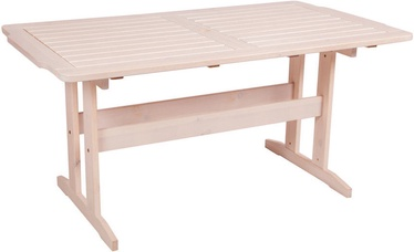 Aialaud Folkland Timber Lolland White, 150 x 85 x 73 cm