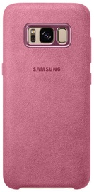 Samsung Alcantara Back Cover For Samsung Galaxy S8 Plus Pink