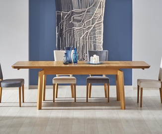 Söögilaud Halmar Rois Oak, 1600 - 2500x900x780 mm