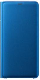Samsung Wallet Case For Samsung Galaxy A9 Blue