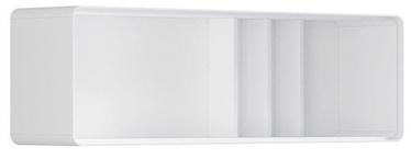 Black Red White Possi Light Cupboard 130x40cm White