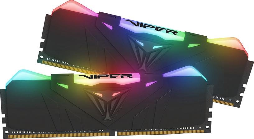 Patriot Viper RGB DDR4 Black 16GB 3600MHz CL16 DDR4 KIT OF 2 PVR416G360C6K