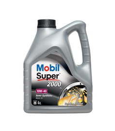 Mobil Super 2000x1 10W/40 Engine Oil 4l