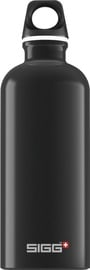 Sigg Water Bottle Traveller Black 600ml