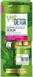 Näoseerum Bielenda Vege Detox Normalizing Face Serum With Beetroot, Kale & Prebiotic, 15 ml