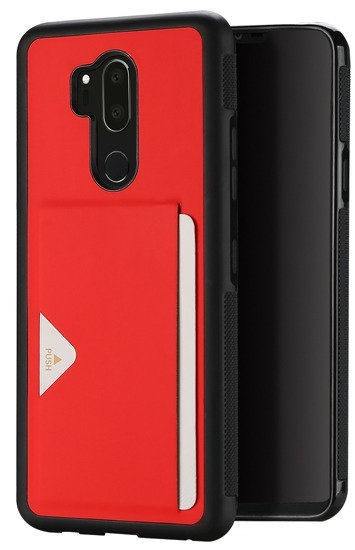 Dux Ducis Pocard Series Premium Back Case For Samsung Galaxy A8 A530 Red