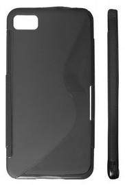 KLT Back Case S-Line Samsung Galaxy Beam Silicone/Plastic Black