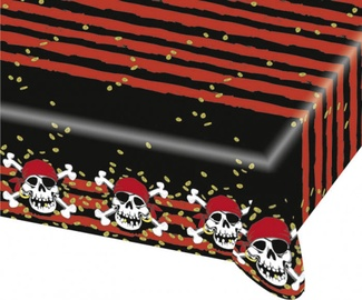 Amscan Jolly Roger Table Cover 120 x 180cm
